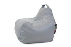 Sedací-vak-Click-outdoor-koženka-sedý