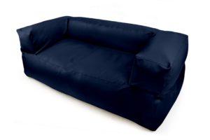 Sedací-vak-Kauč-Double-outdoor-koženka-tmavomodrý